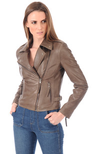 Blouson City Girl Taupe1
