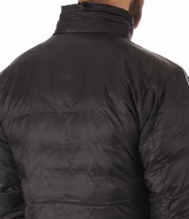 Doudoune Fine Lodge Black Sans Capuche Canada Goose
