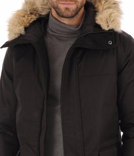 Parka Yves Black Homme Nobis