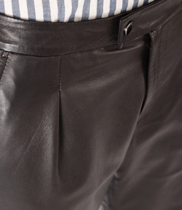 Pantalon Chino Cuir La Canadienne
