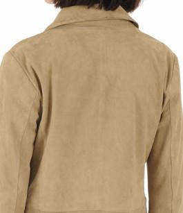Veste Gladys chèvre velours beige Oakwood