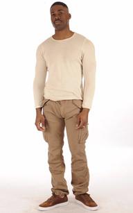 Pantalon Cargo Tabac Schott