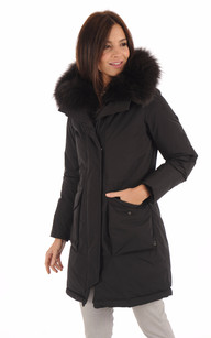 Parka Luxe WWCPS2617 Military Black1