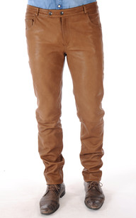 Pantalon Stretch Camel Homme1