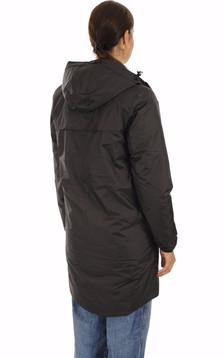 Coupe-vent Orsetto long fourré polaire noir