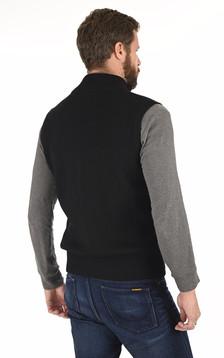 Gilet Hybridge Knit noir