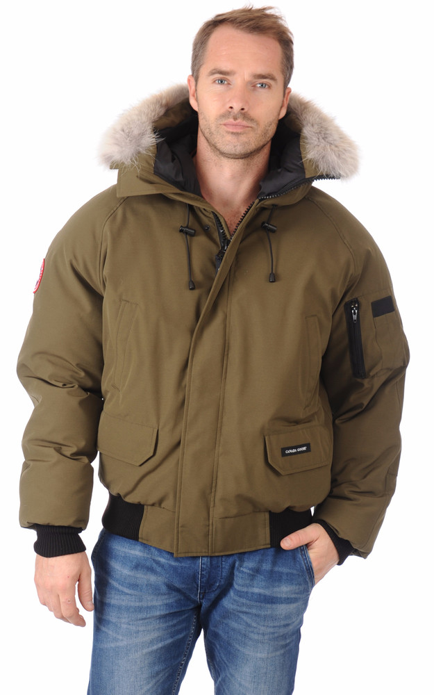 doudoune chilliwack military green homme canada goose la canadienne doudoune parka textile kaki. Black Bedroom Furniture Sets. Home Design Ideas