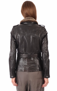 Veste Saharienne Betty Marron
