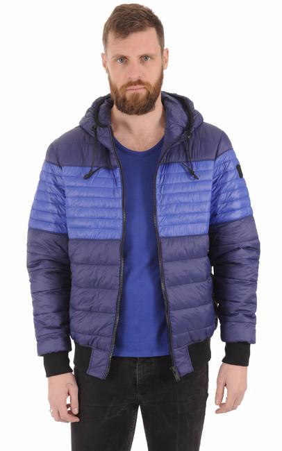 Doudoune Terra Nova bleue Moose Knuckles