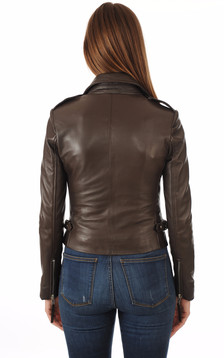 Blouson City Girl Marron