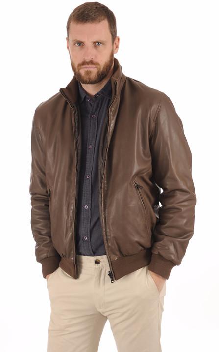 Blouson et veste cuir homme Schott Redskins Serge Pariente Oakwood ... d8b8bf8401f1