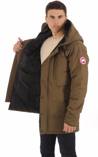 Parka Carson Military Green Homme