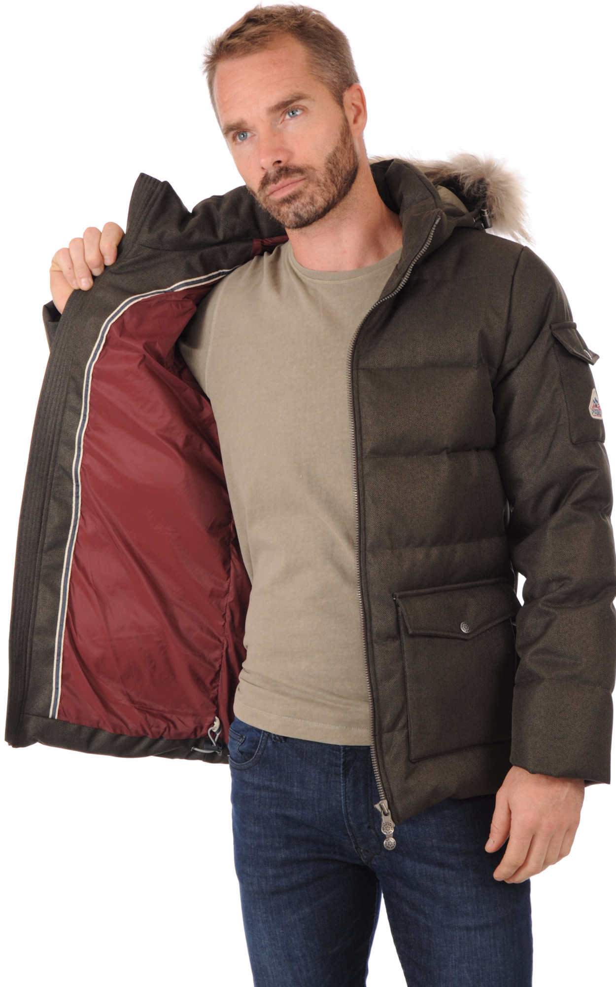 Doudoune Authentic Jacket Drill Kaki Homme