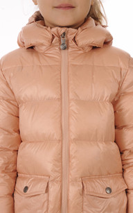 Doudoune Authentic Jacket Rose Poudré Fille Pyrenex