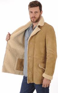 Veste peau lainée Homme La Canadienne, Aeronautica Militare