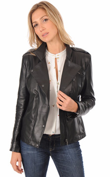 Veste Officier Coupe Confortable Femme1