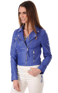 Blouson Femme Majesty Bleu1