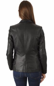 oakwood femme blouson cuir veste en cuir oakwood la canadienne. Black Bedroom Furniture Sets. Home Design Ideas