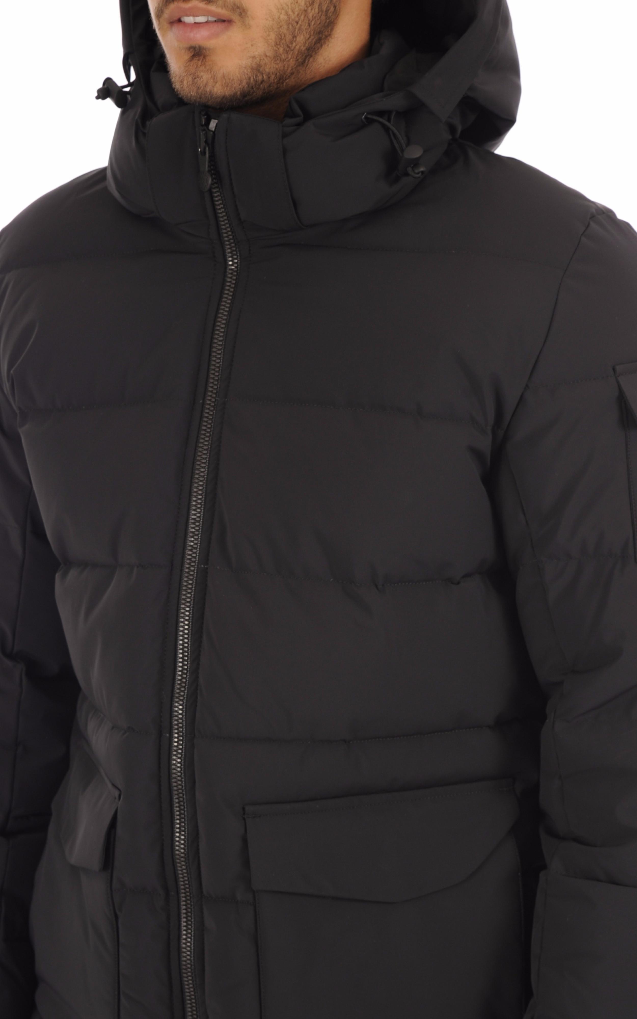 Doudoune Authentic Ultra Mat noir Pyrenex
