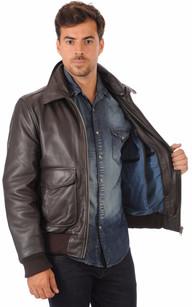 Et Les Cuir Blousons Styles Aviateur Vêtements En Homme Tous ROqqHw68