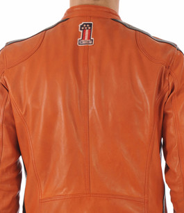 Blouson Oliver orange Daytona 73