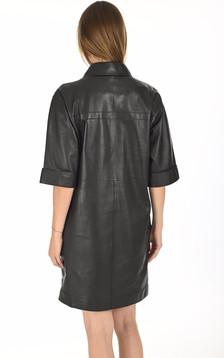 Robe chemise Caracas noir