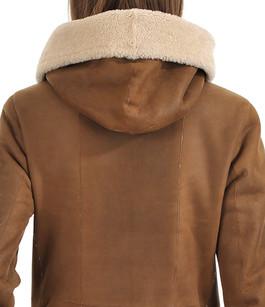 Peau lainée camel La Canadienne