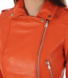 Perf Cuir Orange Yoko Fun Oakwood