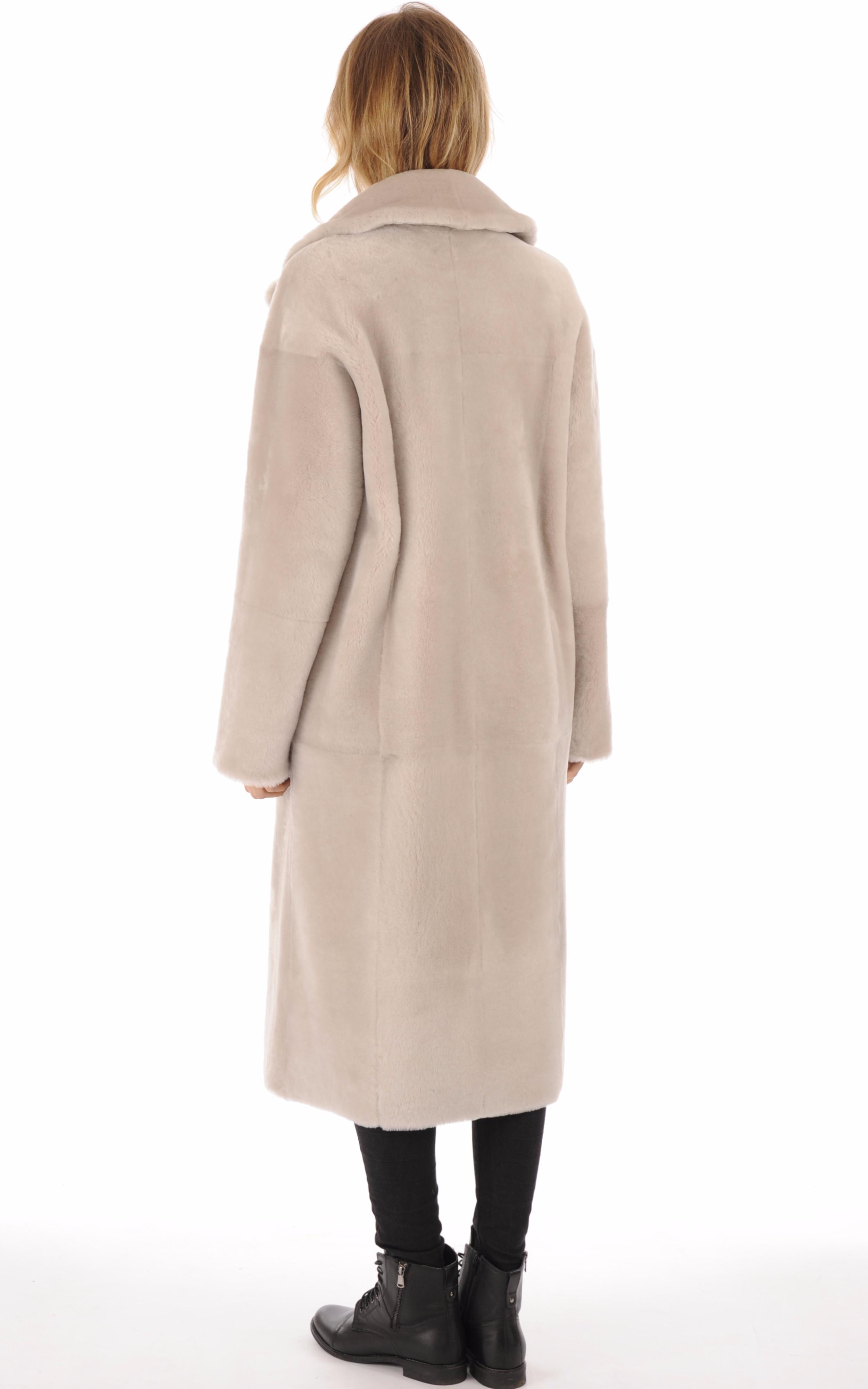 Peau lainée mérinos réversible Centropel