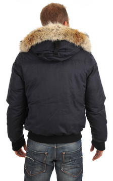 Parka Cartel navy