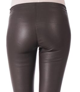 Pantalon Cuir Asteroid Marron Oakwood