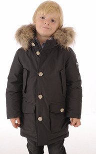 ARTIC PARKA Anthracite Junior1