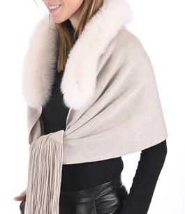 Etole laine et renard beige Lea Clement