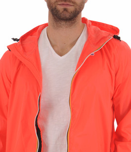 Le Vrai CLAUDE 3.0 Coupe-Vent Red Fluo K-Way
