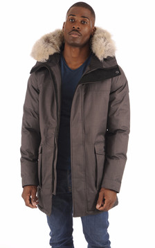 Parka Yves Stell Grey Homme1