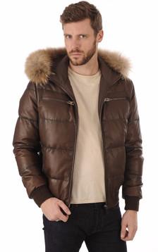 la canadienne homme blousons cuir vestes en cuir la. Black Bedroom Furniture Sets. Home Design Ideas