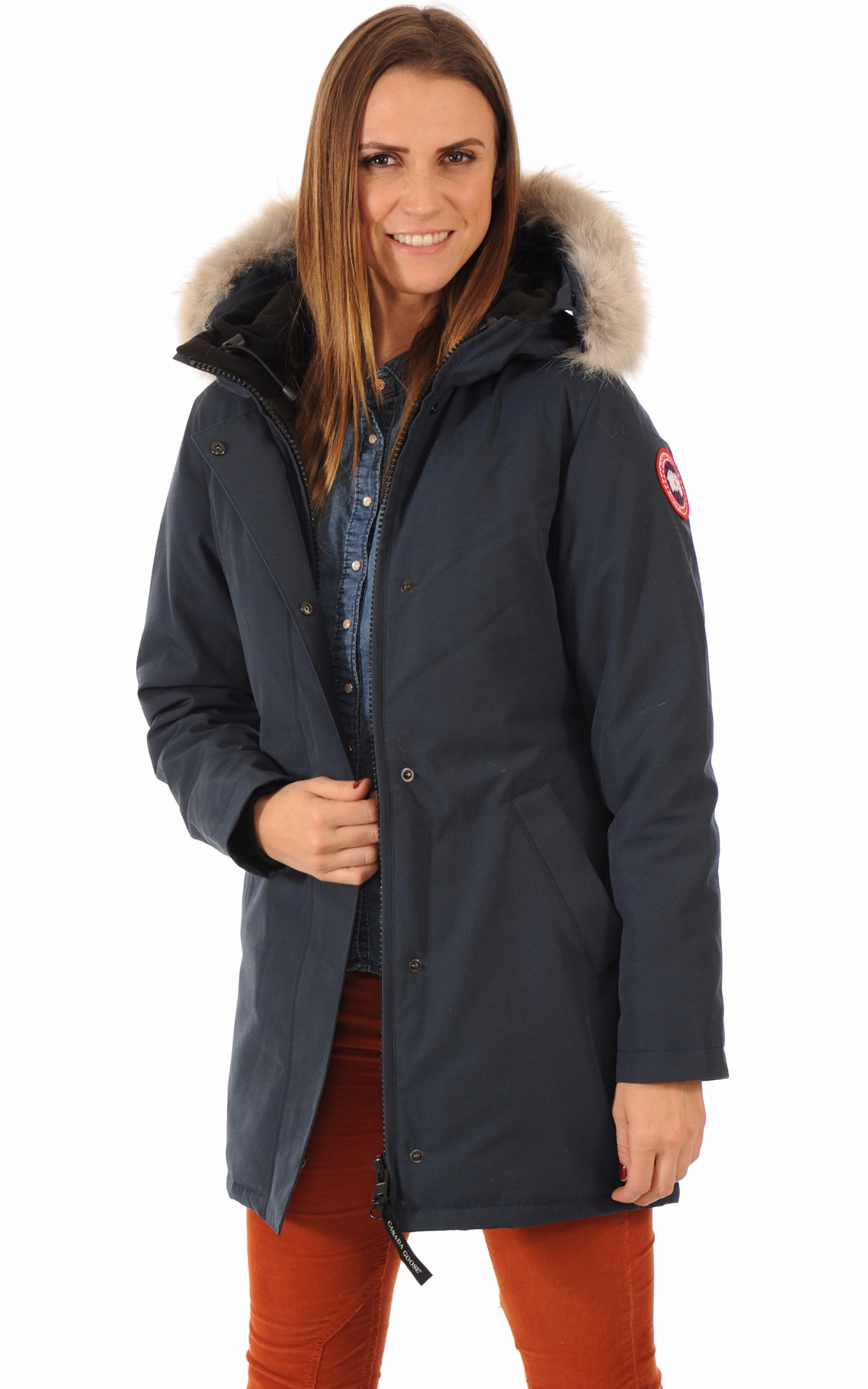 Parka Victoria Ink Blue1