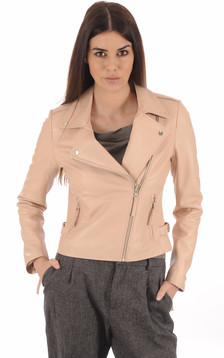 Blouson City Girl Rose Poudré1