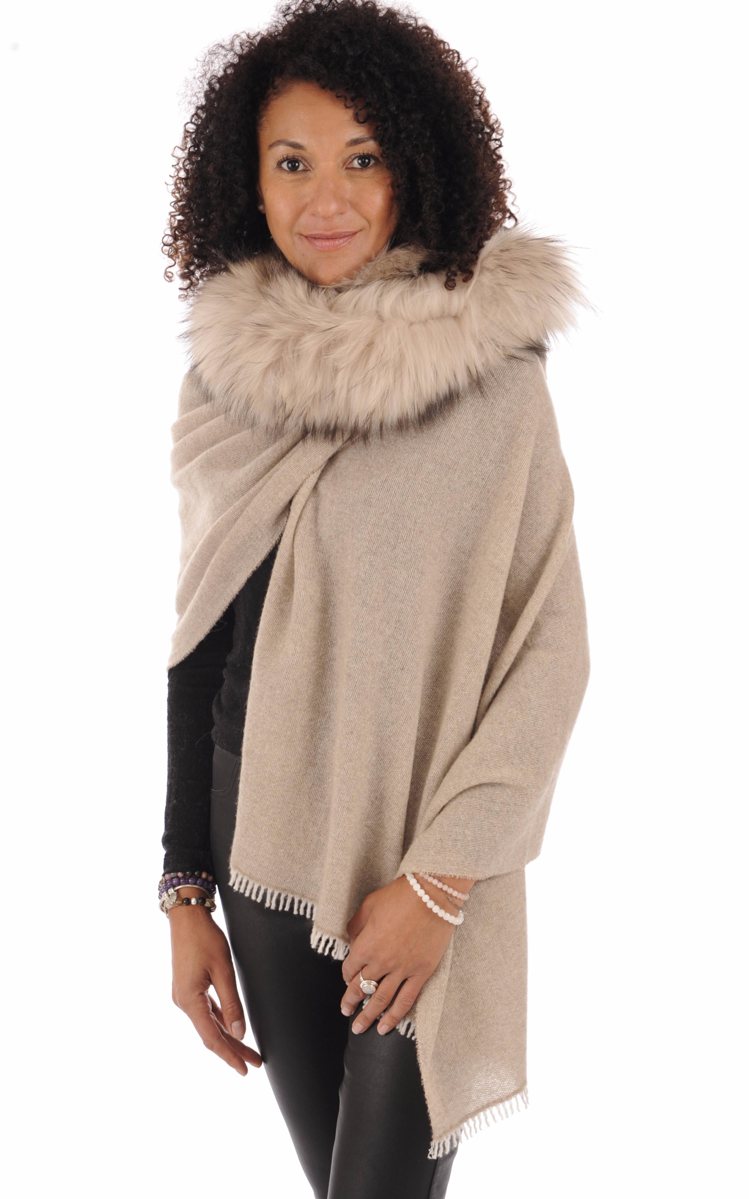 Etole laine et cachemire fourrure Lea Clement