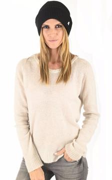 Bonnet en laine Brice noir