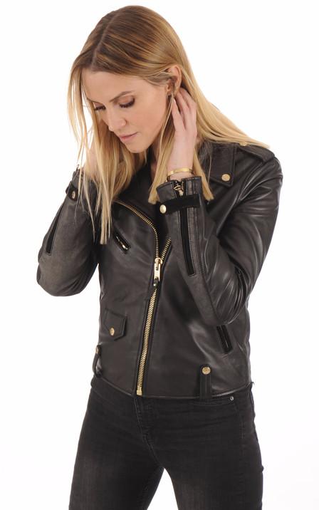69e1d2dd8d79e Schott Femme | Blouson cuir, veste en cuir et perfecto Schott - La ...