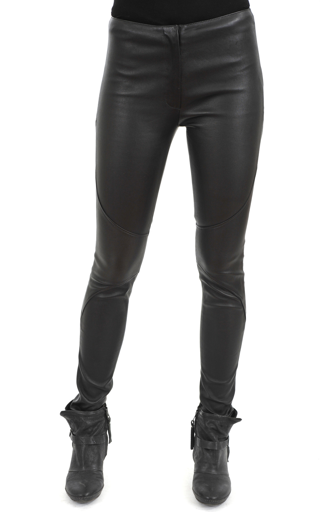 Pantalon Cuir Femme1