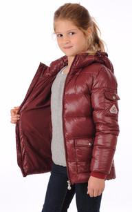 Doudoune Authentic Jacket Bordeaux Fille