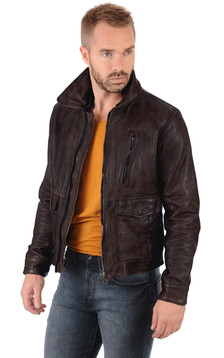 Blouson Bentley Marron1