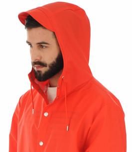 Imperméable 1201 rouge homme Rains