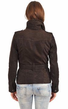Veste Betty Nubuck Marron