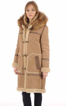 Duffle Coat LCW1250 Camel1