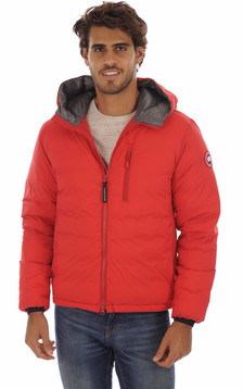Doudoune Fine Lodge Hoody Red1