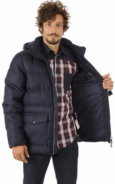 Doudoune Authentic Jacket Drill Bleue