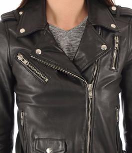 Blouson Style 17W noir Serge Pariente